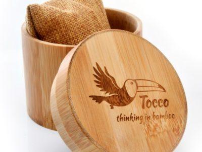 Tocco - Barrel bambusz doboz