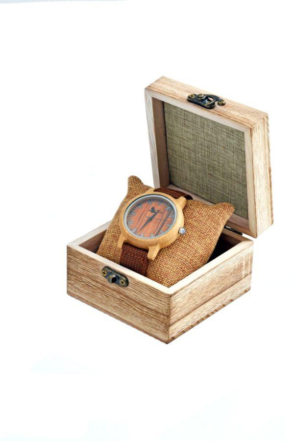 Tocco - Terra férfió fa óra dobozban