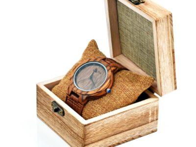 Tocco - Walnut férfia fa óra dobozban