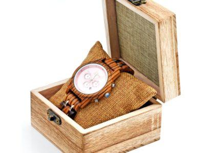 Tocco - Ebony Rose fa női óra dobozba