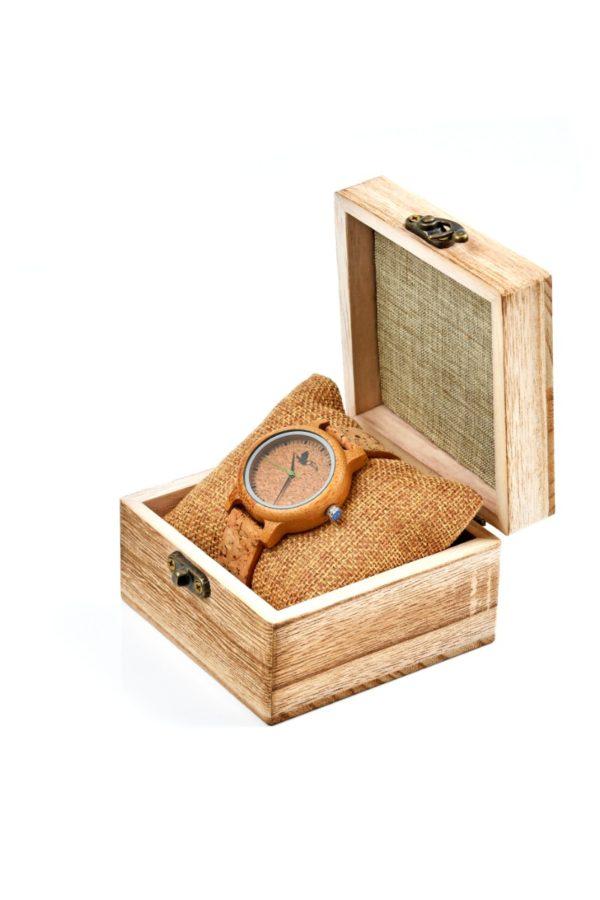 Tocco - Cork Women női fa óra dobozban