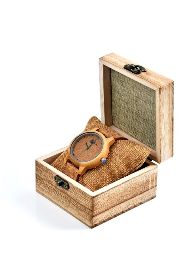 Tocco - Cork Men férfi fa óra dobozban