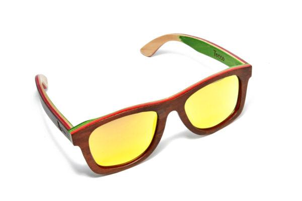 Tocco - Amber fa napszemüveg felülről