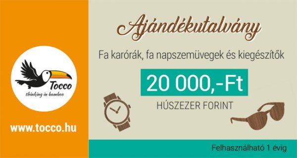 Ajándékutalvány 20000 Ft
